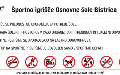 Šolsko igrišče Osnovne šole Bistrica